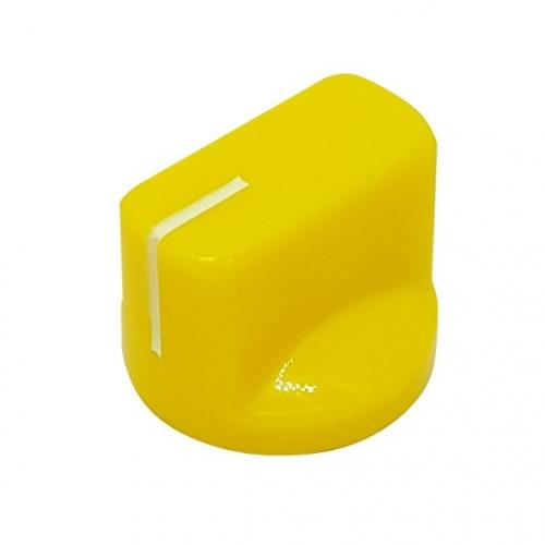 Pointer Knob 19mm Yellow