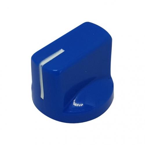Pointer Knob 19mm Blue