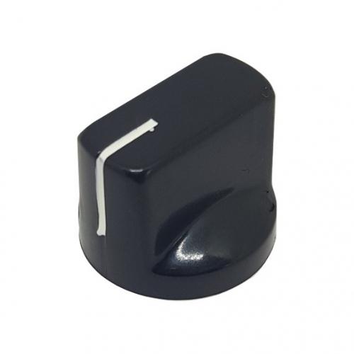 Pointer Knob 19mm Black