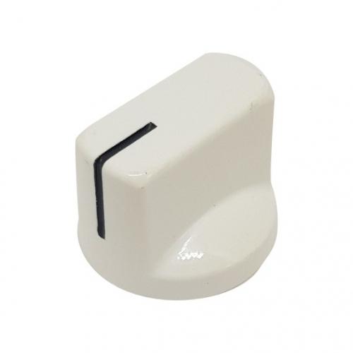 Pointer Knob 19mm White