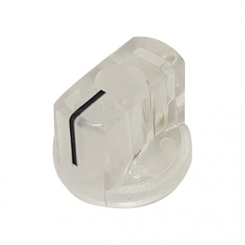 Pointer Knob 19mm Clear
