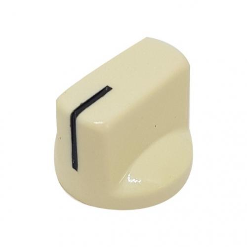 Pointer Knob 19mm Cream