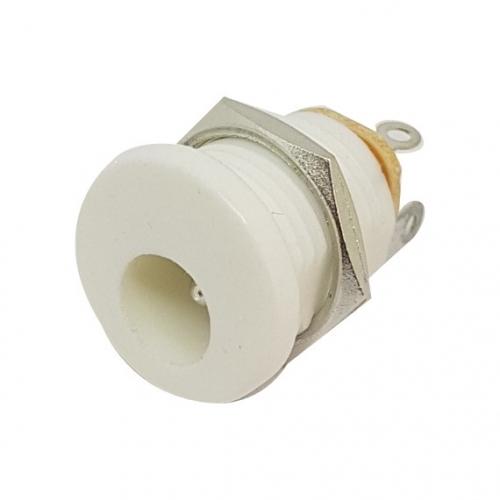 DC Jack 2.1mm White