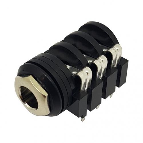 6.35mm Stereo Jack PCB