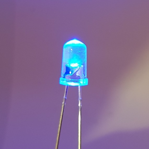 LED Blue Clear 5mm