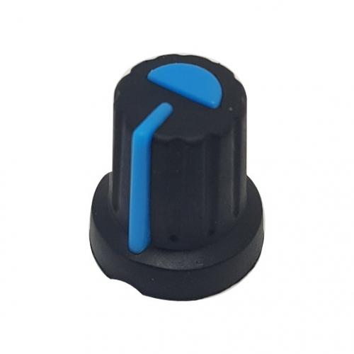 Plastic Knob with Blue Pointer