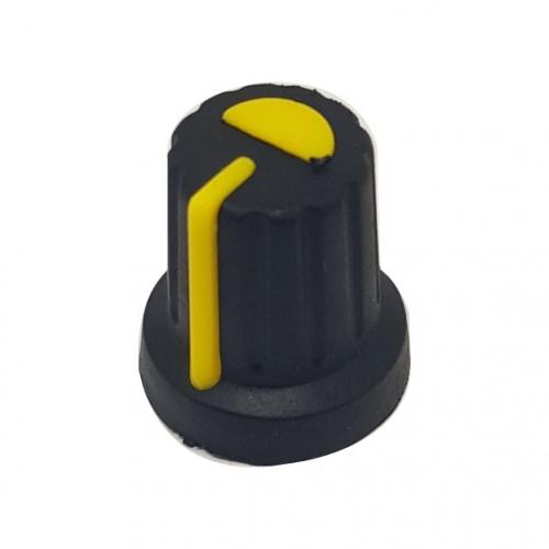 Plastic Knob with Yellow...