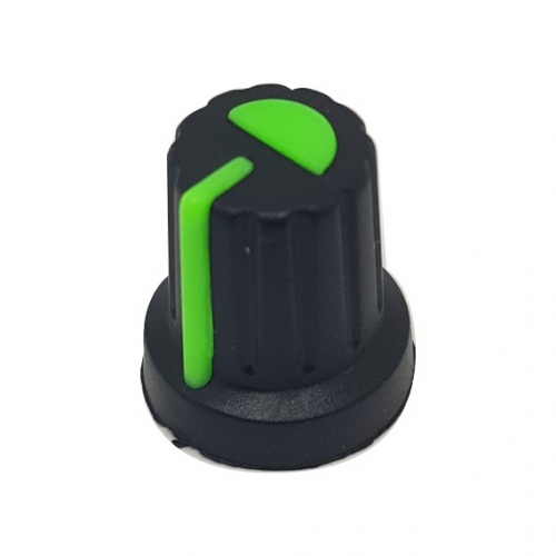 Plastic Knob with Green...