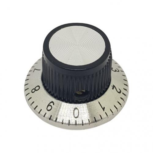 Aluminium Knob 24mm Dial