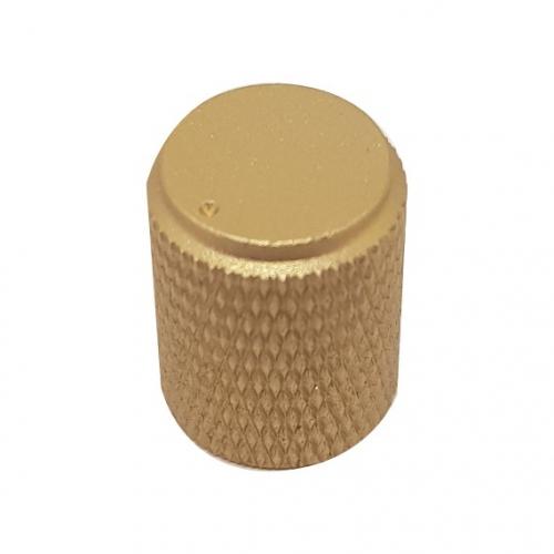 Aluminium Ripple Gold Knob...