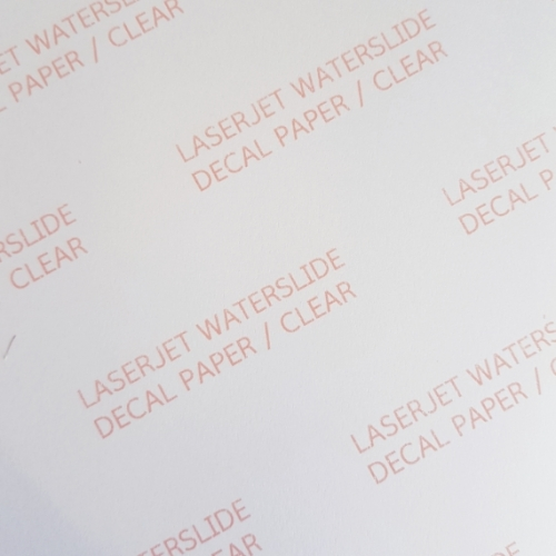 Decal for Laser Printer,...