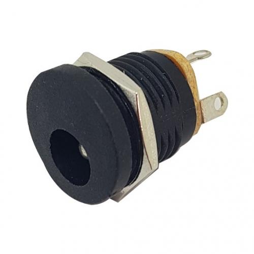 DC Jack 2.1mm Black