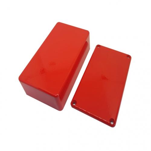 Pre-drilled B Enclosure Red