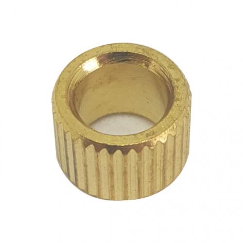 Brass Knob Insert 6.4mm