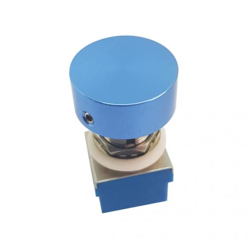 Footswitch Aluminium Knob Blue